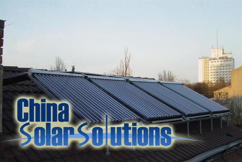 solar hot water project ukraine