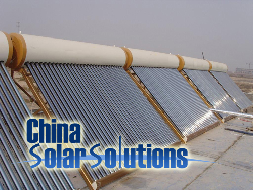 solar hot water system for hotel