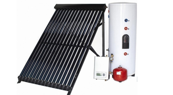solar water heater in China